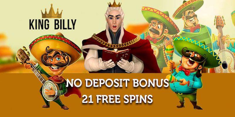 king billy bitcoin casino free spins no deposit